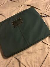 "Coach 17"" Nylon Black Laptop PADDED Tablet Sleeve  E0869-70130 COMPUTER"