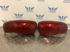 GENUINE NISSAN LEAF RENAULT CLIO MIRROR CAPS COVER RED 2012