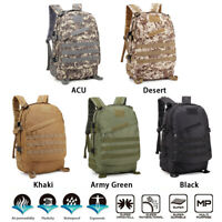 40L Outdoor Military Rucksacks Tactical Backpack Camping Hiking Trekking Bag