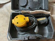 "DeWalt 5"" Corded Random Orbital Palm Sander DW421K, manual and case included"
