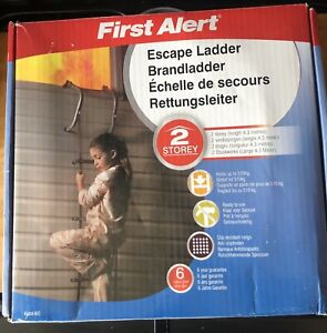 FIRST ALERT FIRE ESCAPE LADDER . 2 Storey . Length 4.3 metres.New and unused
