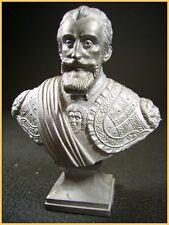 Buste de Henri IV roi de france (LE CIMIER signé Ch. Conrad sculpteur)