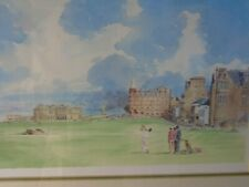 ST Andrews old course print
