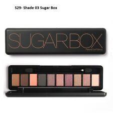 Sugar Box Makeup Palette Natural Eye Makeup Light 10 Colours EyeShadow Shimmer
