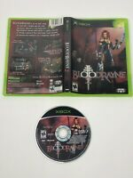 Bloodrayne II 2 for Microsoft Xbox Disc w/ Case & Display Art / No Manual