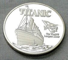 Titanic Silver Grand Wooden 1st Class Stair Case Coin Foot Steps Old Ship Ocean