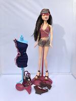 EUC Barbie My Scene Nolee Doll Mattel
