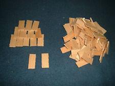 500 Holzschindeln Modellbau Dachschindeln Krippe Sammlung Weihnachten Fichte