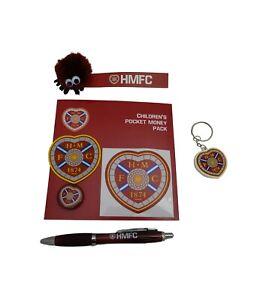Hearts Kid's Football Pocket Money Set, HMFC, Heart of Midlothian, Party Bag