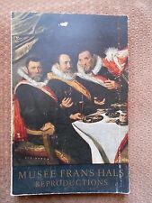 MUSEE FRANS HALSMUSEUM - MUSEE MUNICIPAL DE HAARLEM - 95 REPRODUCTIONS - 1955