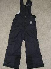 Girls Columbia Winter Sports Snow Bib Sz 4 / 5 Pre School Black Snow Play Pants