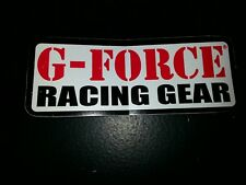 G-Force Racing Gear Decals