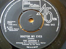 "THE JACKSON 5 - DOCTOR MY EYES  7"" VINYL"