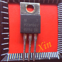 10PCS MTP23P06V Encapsulation:TO-220,TMOS POWER FET 23 AMPERES 60 VOLTS