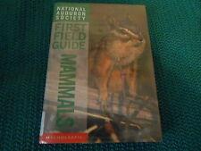 Audubon Soc First Field Guide: Mammals