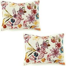 D Studio Dillards Sasha Quilted Floral Print King Size Pillow Sham Set Of Two