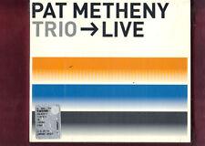 PAT METHENY TRIO LIVE CD DIGIPACK  NUOVO SIGILLATO