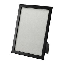 """IKEA 8.5 x 11"""" Wooden Picture Frame FISKBO, Black NEW Free Shipping"""