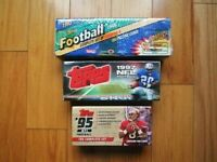 1993 1995 1997 Topps Complete Factory Sealed Football Set