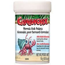 Crabworx Hermit Crab Pellets .56 Oz, by Crabworx 18001
