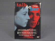 New Sealed Talk To Her (2002) Dvd Almodóvar