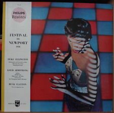 FESTIVAL DE NEWPORT 1956 PHILIPS REALITES V.2  RARE GATEFOLD COVER FRENCH LP