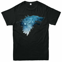 Winter is Coming T-shirt, Game Of Thrones Direwolf Stark Love Gift Tee Top