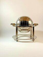 Aluminum World Globe Table Desk Top