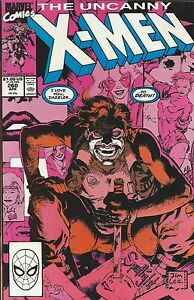 Uncanny X-Men Comic 260 Copper Age First Print 1990 Chris Claremont Green Marvel