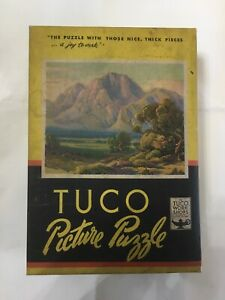 Vintage Tuco Picture Puzzle. Desert In Bloom.