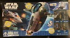 Star Wars Clone Wars RARE TRU Rise of Boba Fett Ultimate Battle Pack Slave 1I