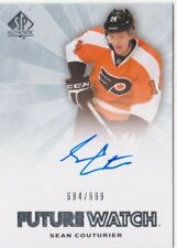 Sean Couturier 2011-12 SP Authentic Future Watch Rookie Auto 684/999 Flyers HOT