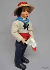 Eros Souvenir Doll 6in Gondolier Italy No59 Venice Tag Traditional Dress Vtg