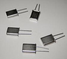 5 Stück  12.000 MHz (12 MHz) Quarze  / Bauform HC-49/U (M8623)
