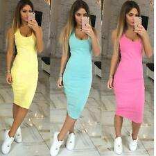 Summer Womens Dress Bandage Bodycon Cocktail Evening Party Short Mini Dress L&f