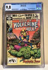 WHAT IF 31 CGC 9.8 Wolverine vs Hulk  White Pages 2060316001 Disney+