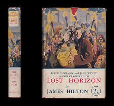 James Hilton LOST HORIZON Shangri-La TIBET Lamasery 1937 Frank Capra Film Tie-in