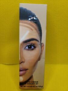 NIB KKW Beauty Kim Kardashian Crème Contour & Highlight Set in DARK Authentic