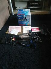Sony DCR-TRV16E Digital Video Cámara Grabadora Paquete en ex con & boxed.