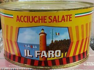 ACCIUGHE SALATE IL FARO 5 KG