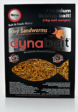 Dynabait Sand worms 1Kg  ( 1kg wet weight = 30 small Dynabait satchels )