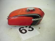 Used 1971-72 Honda CB350 Gas Fuel Tank Repainted Red With Cap WT-63