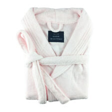 100 Egyptian Cotton 500gsm Thick Terry Towelling Unisex Bath Robe Pink