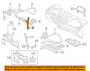 847302W000VFG Hyundai Panelcrash pad driver siderh 847302W000VFG, New Genuine OE
