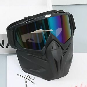 Off road motorcycle goggles Windproof cycling glasses bike helmet mask goggles