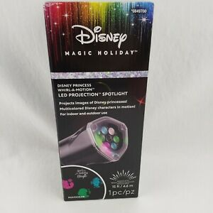 Disney Magic Christmas Princess LED Colorful Projector Indoor/Outdoor New