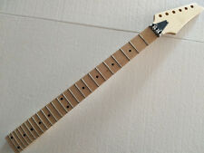 Electric guitar neck maple fingerboard 24 fret for Ibanez style parts