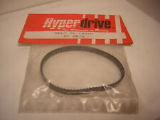 HYPERDRIVE  BT0076 belt 76 tooth   vintage rc 1/10 courroie  76 dents