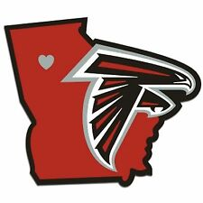 NFL Atlanta Falcons Home State Auto Car Window Vinyl Decal Sticker