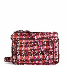 Vera Bradley Iconic RFID Little Hipster Crossbody Bag in Houndstooth Tweed
